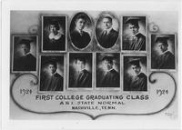 First College Graduating Class of Tennessee Agricultural and Industrial State Normal College, 1924