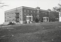 Wilson Hall, the first dormitory for women at Tennessee Agricultural and Industrial Normal School