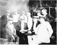 Photograph inside Robinson's Drugstore in Dayton, Tennessee