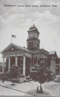 Washington County Courthouse in Jonesborough, Tennessee
