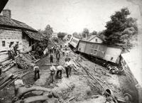 Train wreck at Telford, Tennessee