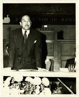 Langston Hughes at Fisk University, 1947