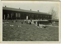 Hospital at the Buchenwald Camp