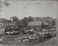 Lumber mill in Jonesborough, Tennessee