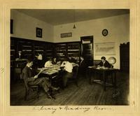 Students in the Library and Reading Room, Nashville Bible School, c. 1914