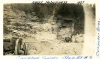 Dempster Brothers building a road in Campbell County, Tennessee.