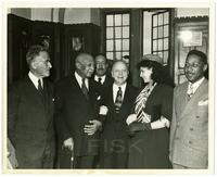 Dedication of the George Gershwin Collection at the Fisk University Library
