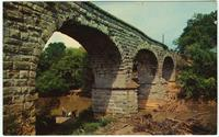 Old Stone Bridge spanning the Elk River, Fayetteville, Tennessee