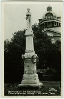Monument to Sam Davis, Confederate Hero - Pulaski, Tenn. - 1-2-164