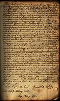 Warranty Deed between James White and William Blount