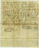 Apprenticeship of Joseph D. McCray to Thomas White 1865