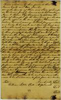 James Cook to Aaron V. Brown, Tippling License Bond, 3 Feb. 1847