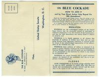 The Blue Cockade membership form