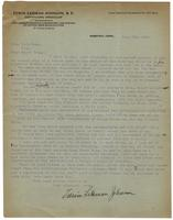 Edwin Lehman Johnson in Memphis, TN, to Mayor E. H. Crump in Memphis, TN