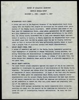 NAACP Report of Executive Secretary, December 1st thru January 4th, 1967