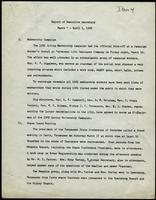 NAACP Report of Executive Secretary, March 7th thru April 3rd, 1962