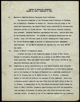 NAACP Report of Executive Secretary, January 9th thru Februry 5th, 1963