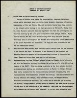 NAACP Report of Executive Secretary, February 6th thru March 5th, 1963