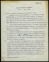 NAACP Report of Executive Secretary, April 4th thru May 1st, 1962