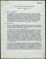 NAACP Report of Executive Secretary, September 6th thru October 3rd, 1961