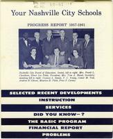 Your Nashville City Schools, Progress Report 1957-1961