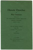 Historic Churches of West Tennessee
