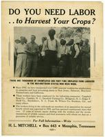 Do You Need Labor to Harvest Your Crops?