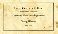 Dormitory Rules and Regulations for Young Women
