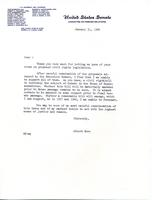 Letter on Civil Rights, 1964