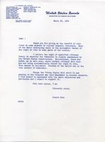 Letter on Voting Rights, 1965