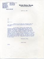 Letter on Firearms, 1965