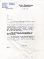 Letter on 1963 Civil Rights