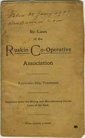 By-Laws of the Ruskin Co-Operative Association