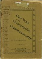 One Way to the Co-operative Commonwealth