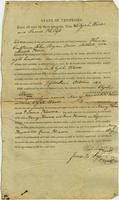 Elijah Ward to Justices of White County Court, Guardian Bond, 15th October 1827