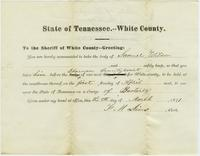 State of Tennessee vs. Samuel Wilson, Bastardy, issued 8th March 1871
