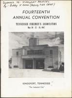 Program of the 14th annual convention of the Tennessee`s Fireman`s Association
