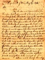 1816 May 27, Department of War [to] Col. Return J. Meigs, Cherokee Agency