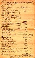 Receipt for annuities paid to the Cherokee, 1812