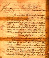 1812 Dec. 31, Fort Massac, Ill. [to] Return J. Meigs, Highwassee Garrison