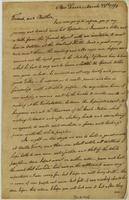Letter from The Turkey in New Seneca to Governor William Blount