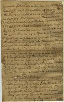 Account of General James Robertson`s supplies provided by United States government