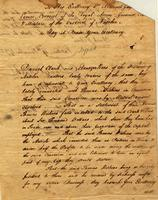 1792 Nov. 14, Natchez [to] [Governor] Manuel Gayoso de Lemos