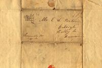 [Letter] 1837 Sep. 15 [to] E. H. Porter, Shelby County, Tennessee