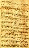 Deposition recorded by Andrew Jackson