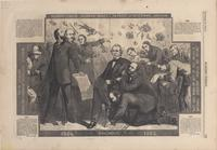 Cartoon of Andrew Johnson