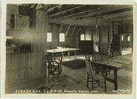 All purpose recreation room, 223rd Co. C.C.C., TVA P-10, Powell Station, Tennessee