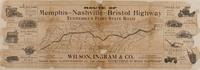 Route of Memphis-Nashville-Bristol Highway, Tennessee's First State Road