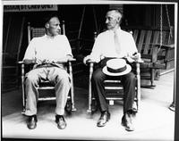 John Scopes with his father