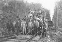 Railroad crew in the Maryville, Tennessee area